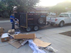Tucson trash haulers