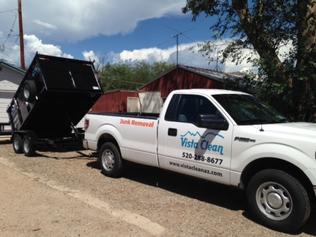 Vista Clean dump trailer