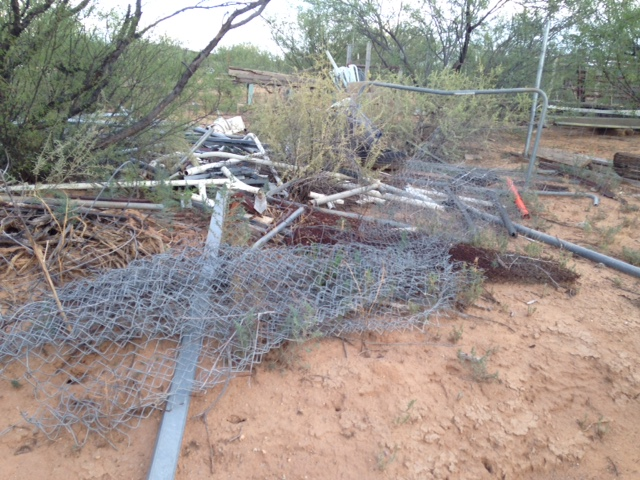Tucson debris removal - Vista Clean Junk Removal
