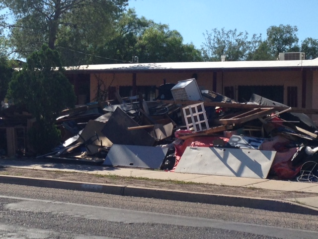 Tucson rental property junk removal
