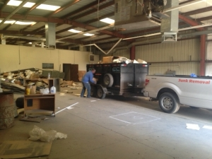 warehouse / commercial junk removal