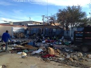 commercial lot junk clean up