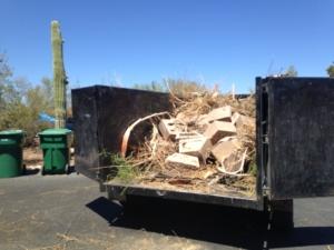 yard debris hauling