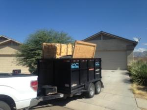spa hauled off